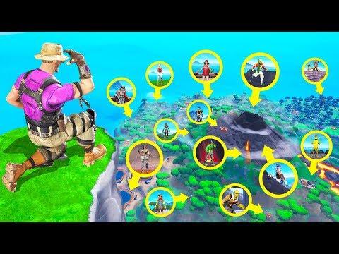 Fortnite HIDE & SEEK With 100 Players! (Fortnite Creative)