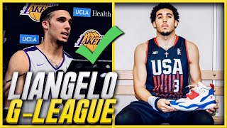 DON'T BE FOOLED.. LIANGELO BALL IS 100% GOOD ENOUGH FOR THE NBA G-LEAGUE!