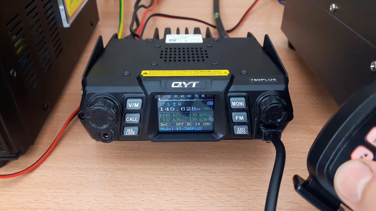 QYT 780 PLUS | VHF transceiver 100 WATT
