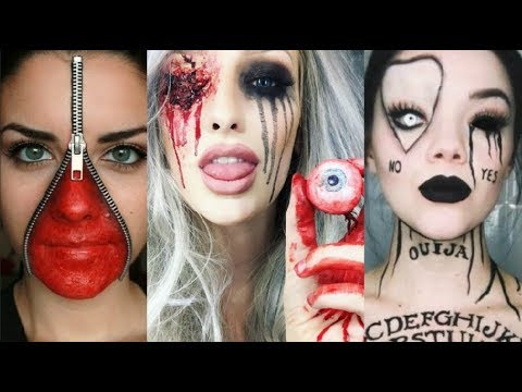 INCREÍBLES MAQUILLAJES PARA HALLOWEEN 2018 #6 / Easy Halloween Make Up 2018