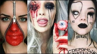 INCREÍBLES MAQUILLAJES PARA HALLOWEEN 2019 #6 / Easy Halloween Make Up 2019