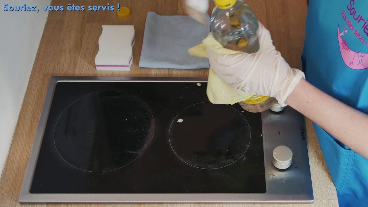 Nettoyage plaque de cuisson youtube for Nettoyage plaque cuisson verre
