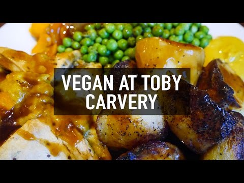 WHAT I ATE AT TOBY CARVERY | VEGAN WELLINGTON