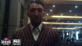HUGHIE FURY IS DETERMINED TO WIN THE WBO WORLD TITLE FROM JOSEPH PARKER