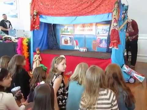 MARIONETTE SHOW  CIRCUS PUPPET CHILDRENS BIRTHDAY PARTY   STAN WIEST ENTERTAINMENT (631) 754-0594