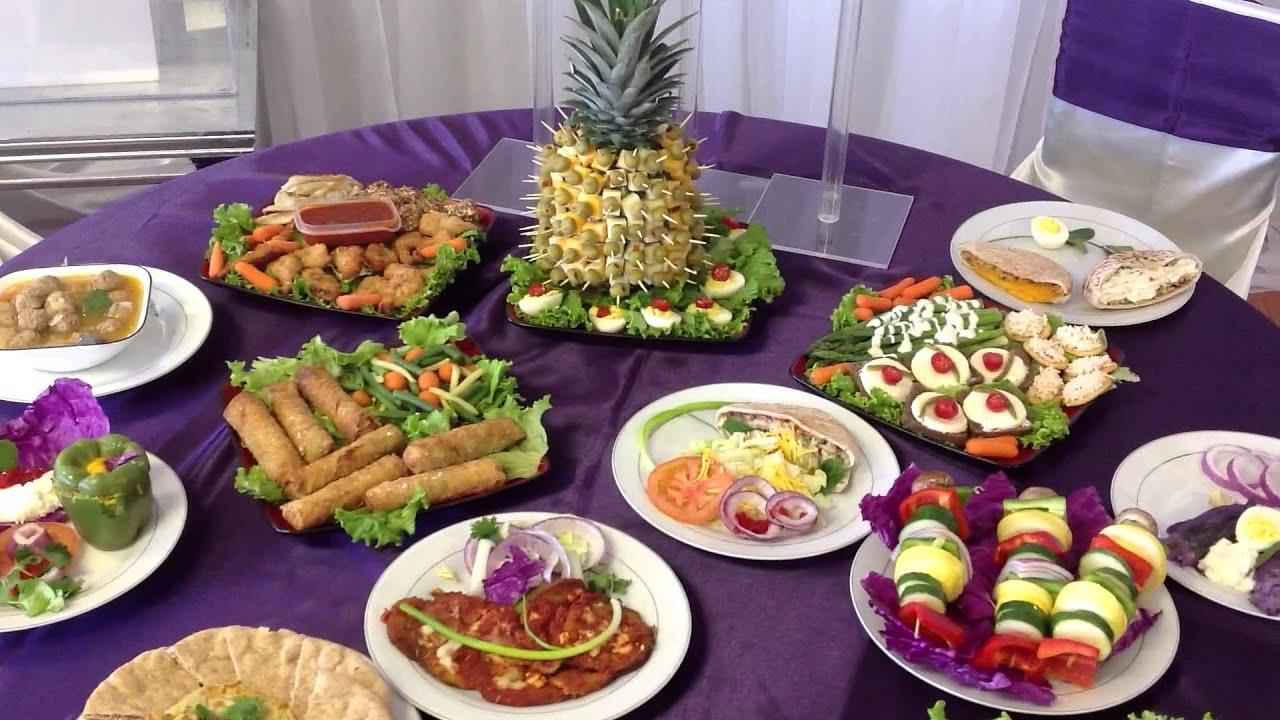 mesa de aperitivos banquetes del norte youtube