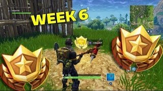 *NEW* TREASURE MAP LOCATION week 6 CHALLENGE season 4 (Fortnite Battle Royale)