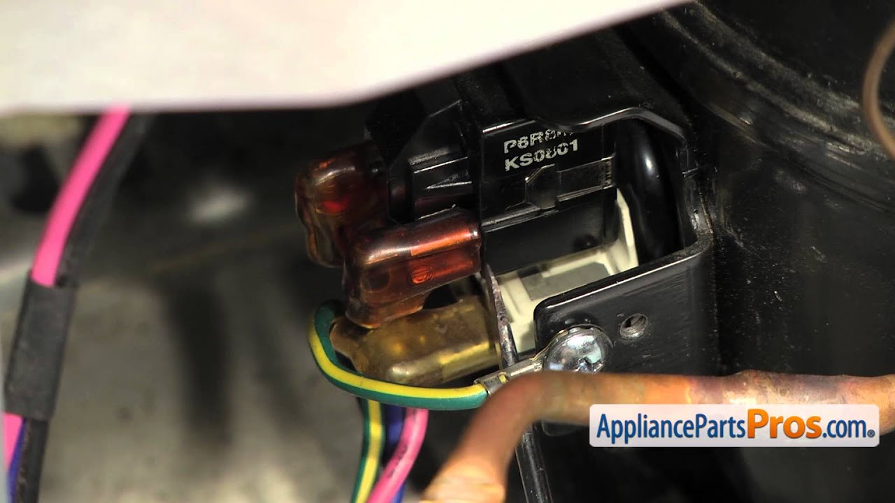 Refrigerator Compressor Start Relay (part #6749C0014E)  How To Replace  YouTube