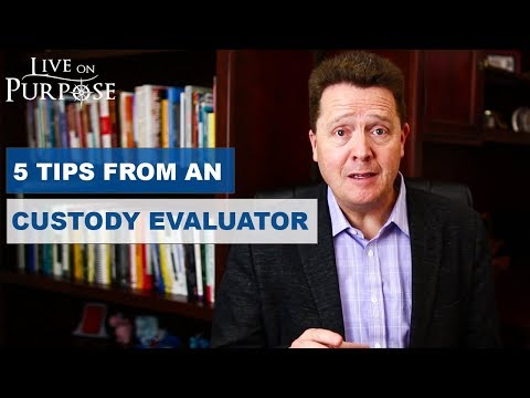 How To Prepare For A Custody Evaluation