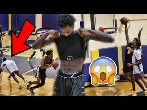 "Zaire Wade VS ""OVERRATED"" CHANTS!! INSANE POSTER On HOSTILE Crowd!! Zaire Drops 22!"