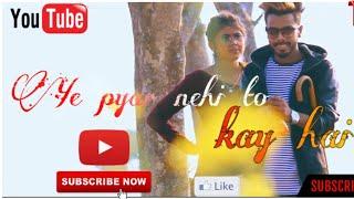 Download lagu Ye Pyar Nahi To Kya Hai Full Song video cover song Rahul Jain cute romantic song MP3
