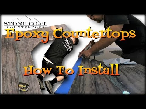 Epoxy Countertops - How to Install