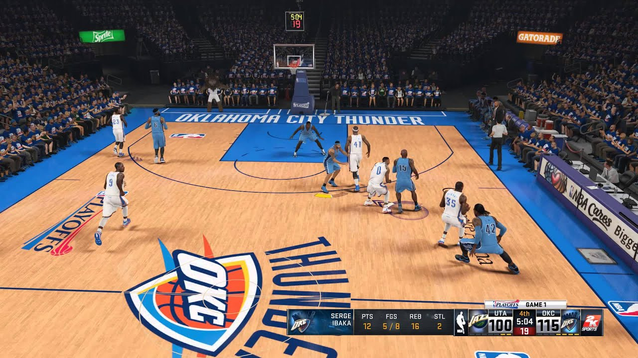 Utah Jazz - Oklahoma City Thunder | Semi Final - Western ...