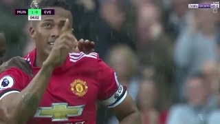 Gol Fantástico de Antonio Valencia   [MU 4  -  EVERTON 0]