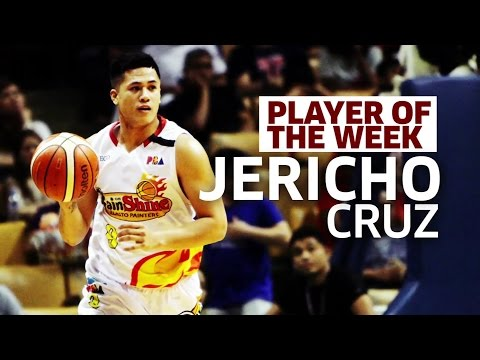 Player of the Week: Jericho Cruz   PBA Commissioner's Cup 2017
