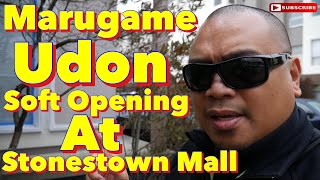 Eric B's Daily Vlogs #327 - Marugame Udon Soft Opening at Stonestown Mall
