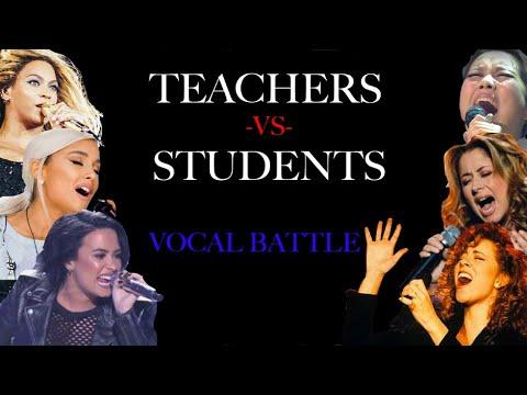 TEACHERS Vs STUDENTS BELTING BATTLE
