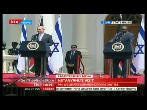 Israeli PM Benjamin Netanyahu's [FULL SPEECH] in Nairobi, Kenya
