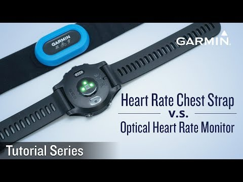 Tutorial Difference between Heart Rate Chest Strap and Optical Heart Rate Monitor