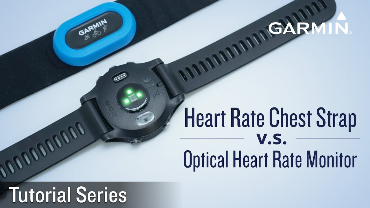 Tutorial - Difference between Heart Rate Chest Strap and Optical Heart Rate  Monitor