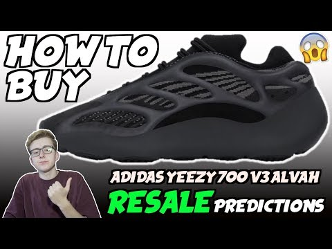 adidas yeezy 700 v3 alvah resell