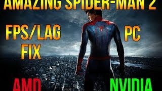 AMAZING SPIDER-MAN 2 FPS/LAG FIX | AMD and NVIDIA