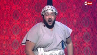 بالفيديو.. على عبدالمنعم يرقص على نغمات الشعبي ويرتجل الشعر بـ'نجم الكوميديا'