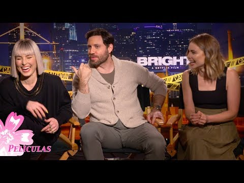 🍭 Meet the fun side of Edgar Ramirez, Noomi Rapace and Lucy Fry, stars of