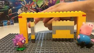 Конструирование для дошкольников. Ворота из конструктора.