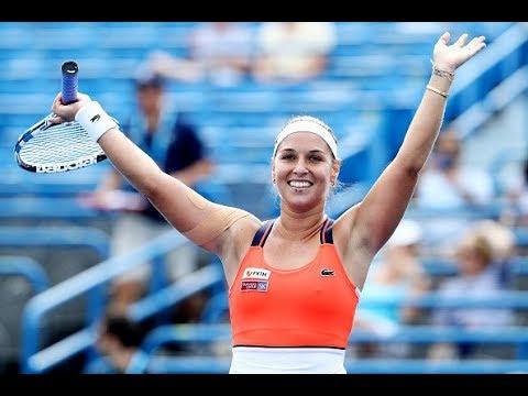 2017 Connecticut Open Semifinals | Dominika Cibulkova vs. Elise Mertens | WTA Highlights