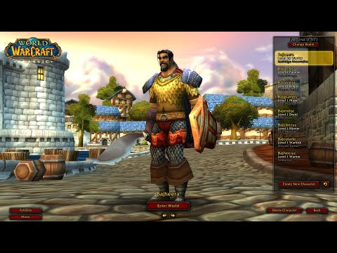Bajheera - Classic WoW Deadmines: Level 23 Warrior Tank (Full Run) - World Of Warcraft