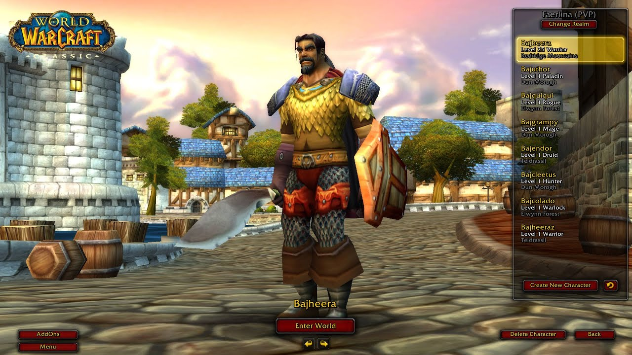 Bajheera - Classic WoW Deadmines: Level 23 Warrior Tank (Full Run) - World  of Warcraft