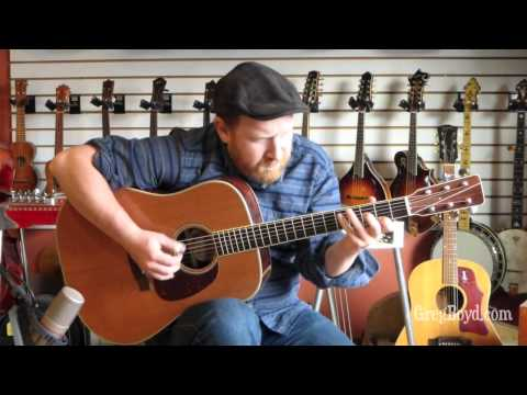 1992 Roy Noble CocoBolo Dreadnaught Guitar