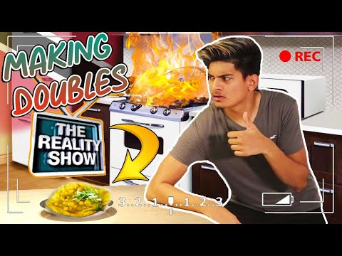 I Attempted To Make Doubles At Home But It's A Reality Show