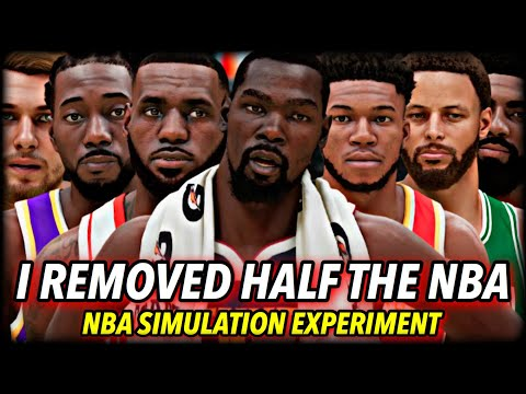 I Deleted HALF of the NBA's TEAMS... and it formed ONLY SUPERTEAMS | NBA 2K21 Next Gen New Feature