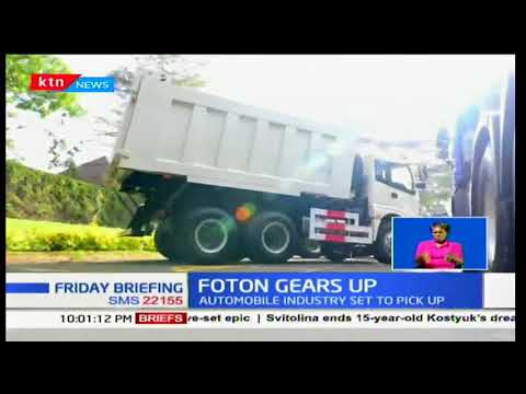 Foton motors introduces a new line of affordable motor vehicles in Kenya