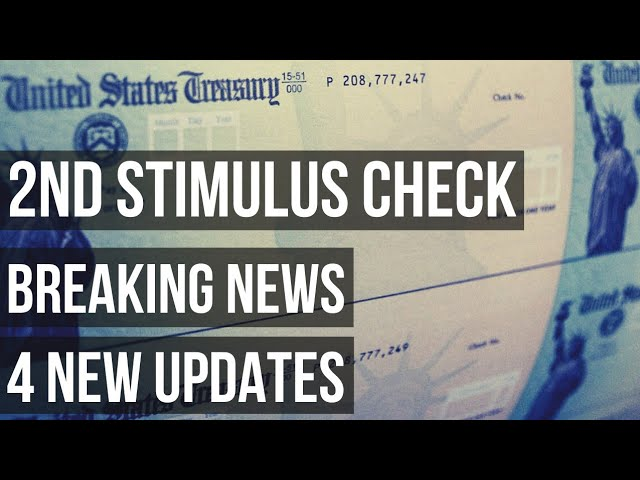 Second Stimulus Check: 4 New Proposals Added To Package - Wise Flys