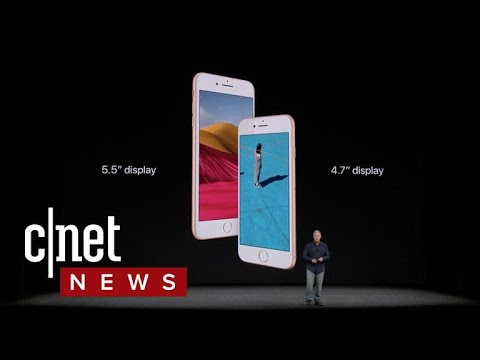 Apple's iPhone 8, iPhone 8 Plus get wireless charging (CNET News)