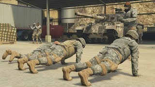 ASALTO A CAMPAMENTO MILITAR - GTA 5 ONLINE - DLC TRAFICO DE ARMAS (GUNRUNNING)