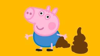 Джордж ОБКАКАЛСЯ НА ГЛАЗАХ У ПЕППЫ мультики для детей свинка Пеппа на русском peppa pig