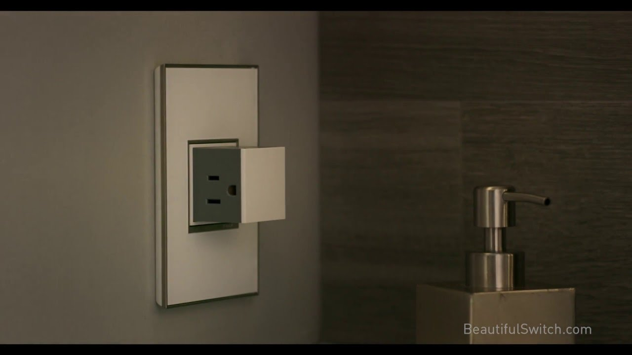 adorne Magnesium 2-Gang Pop-Out Outlet Legrand ARPTR152GM2