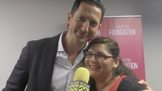 Sasha Roiz (Capt. Sean Renard) - Grimm 100th Episode Red Carpet