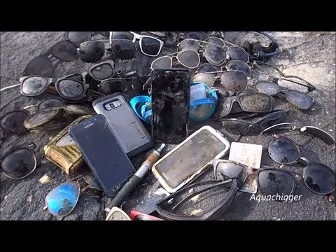 River Treasure: I Found FOUR Phones, Galaxy S8, Bass Vape And MOAR!