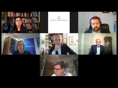 Angelina Eichhorst speaks on Turkey-EU foreign and security coop. at the Circle Foundation's webinar