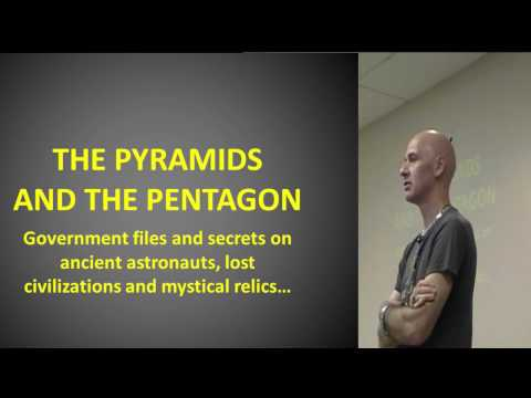 Nick Redfern: The Pyramids and the Pentagon