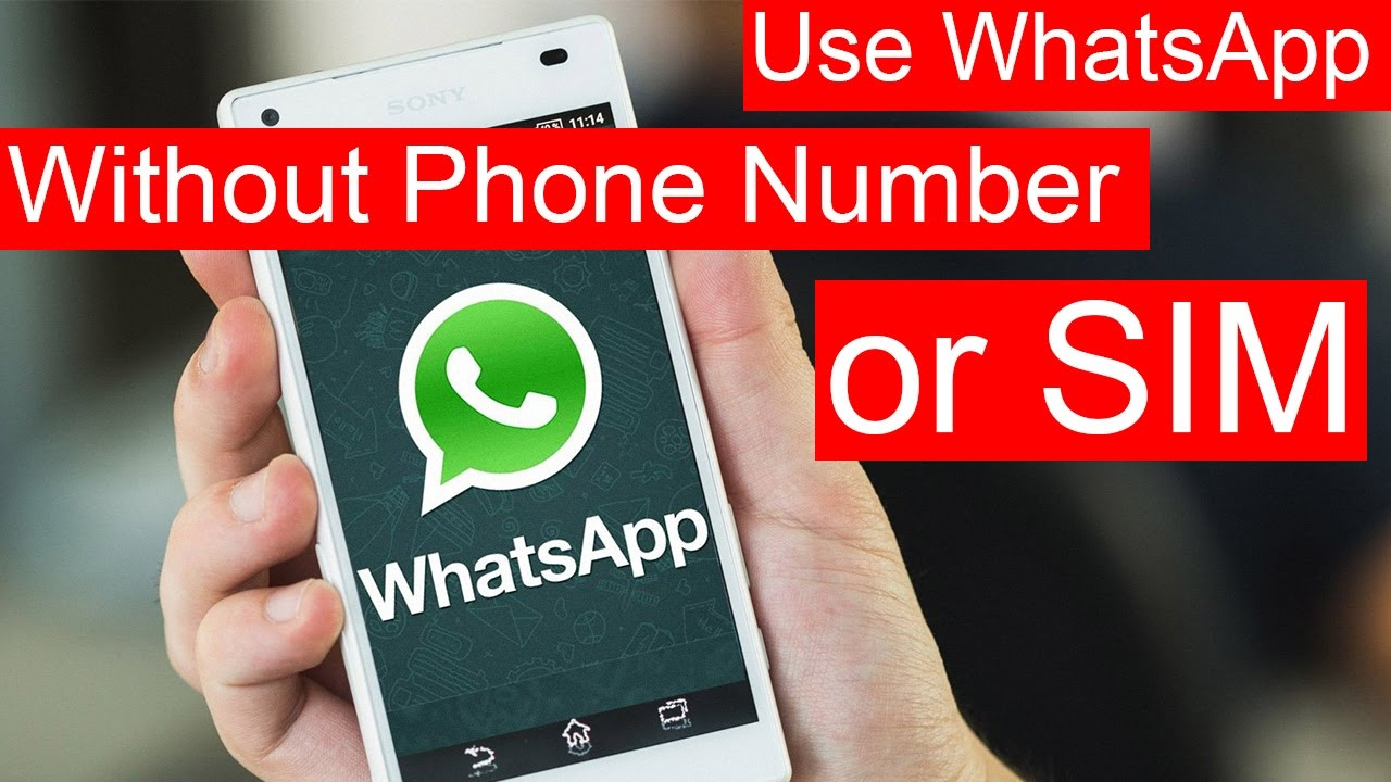 Hey Möbel How To Use Whatsapp Without Using Mobile Number Or Sim