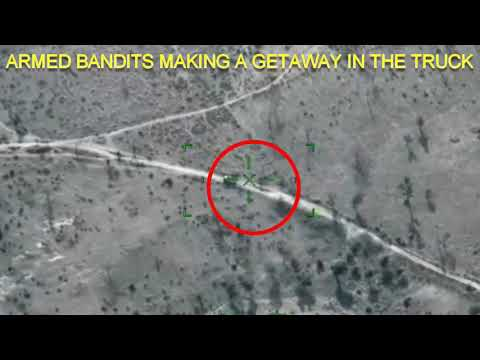 NAF INTENSIFIES BOMBARDMENT OF ARMED BANDITS' HIDEOUTS, DESTROYS TRUCK,  AT COMPOUND IN RUGU FOREST