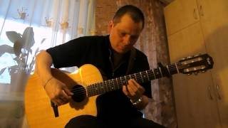 Michelle from The Beatles Rubber soul.Fingerstyle guitar.Vlad Minzarari