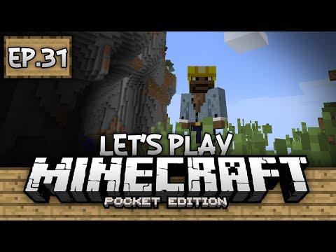 Survival Let's Play Ep. 31 - Exploring!!! - Minecraft PE (Pocket Edition)