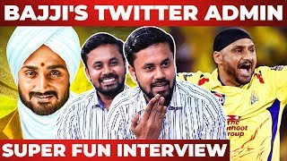 HARBAJAN's Favourite TAMIL Actor Revealed I Bajjis Twitter Admin Interview I CSK I IPL 2020